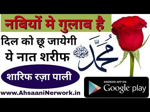नबियों मे गुलाब है मेरा नबी लाजवाब है || Sharif Raza pali Rajasthan new Naat 2017