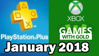 PS4 and XBOX ONE Free Games January 2018