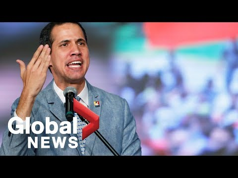 Guaido calls on Venezuelan military to let humanitarian aid into country