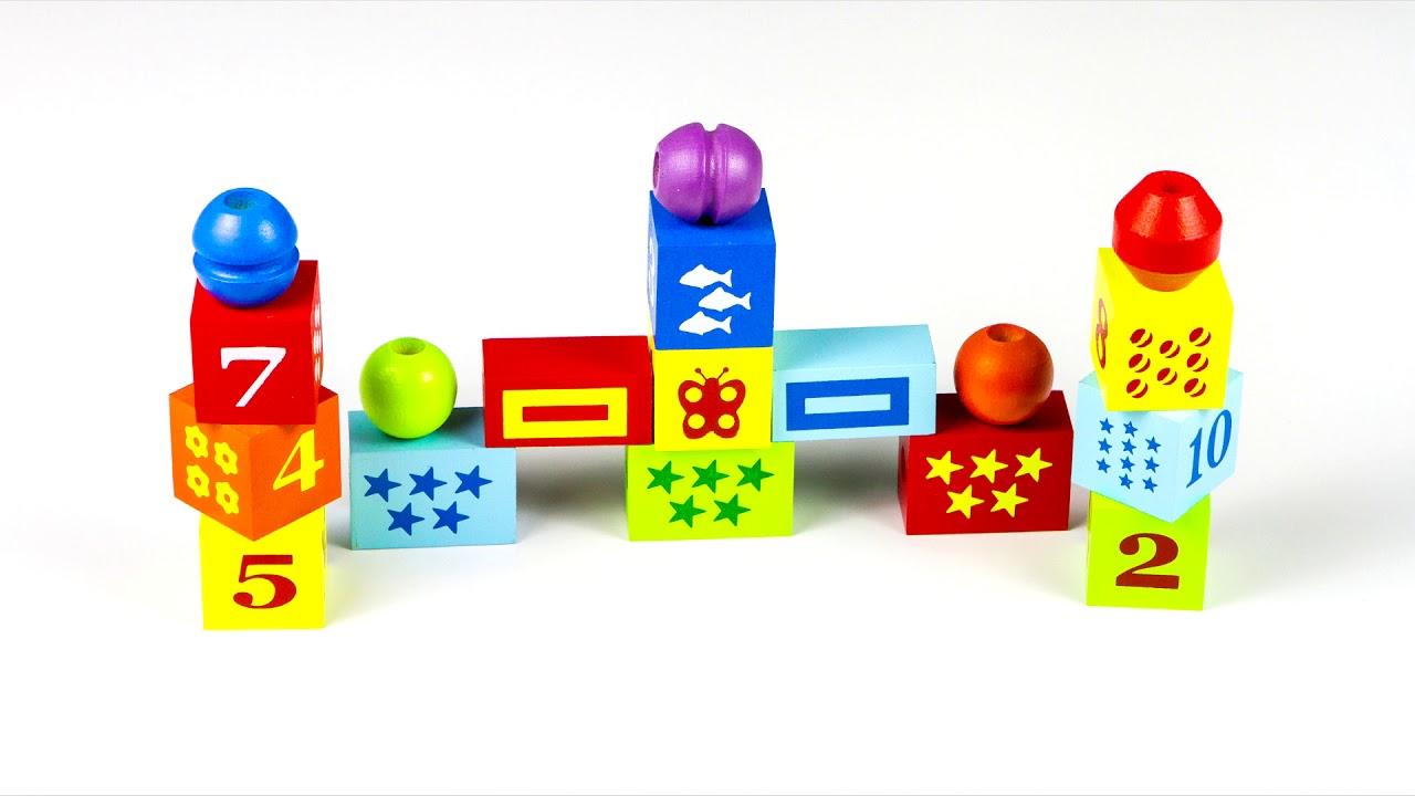 Шнуровки бусы КШЦ 3501 Alatoys (Алатойс) - развивающие игрушки