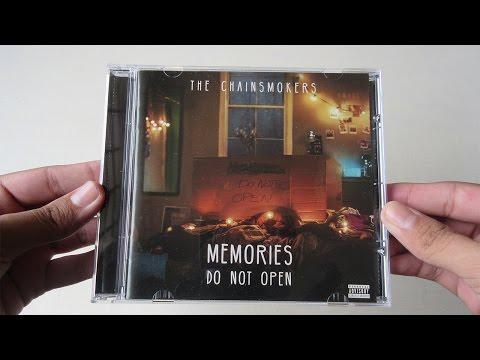 The Chainsmokers - Memories Do Not Open - Unboxing CD En Español