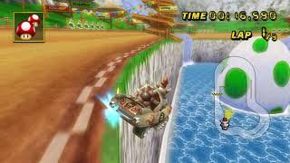 [MKWii TAS] Yoshi Falls - 1:00.232 (Kart)