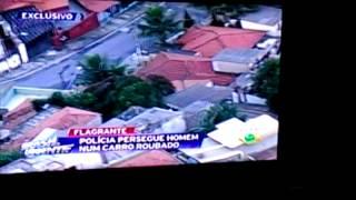 Perseguição ao vivo roubo do veloster da Hyundai no brasil urgente band
