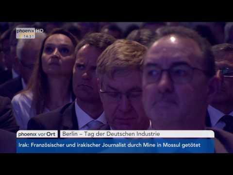 Tag der Deutschen Industrie: Rede von Alexander Dobrindt am 20.06.2017