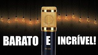 Microfone BM 800 -  MUITO BARATO e áudio INCRÍVEL! Análise Completa - Review