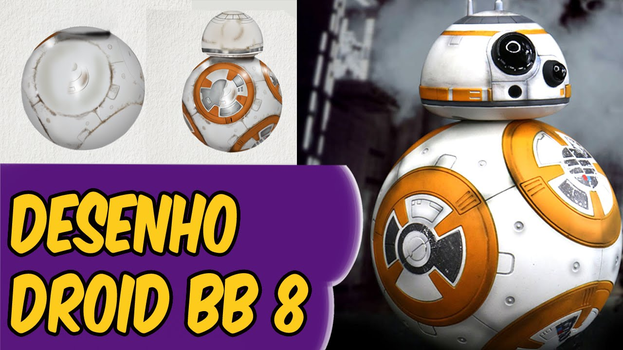 droid bb 8 star wars o despertar da força desenho do droid bb 8
