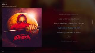 Marteria - Aliens (feat. Teutilla) | Lyrics