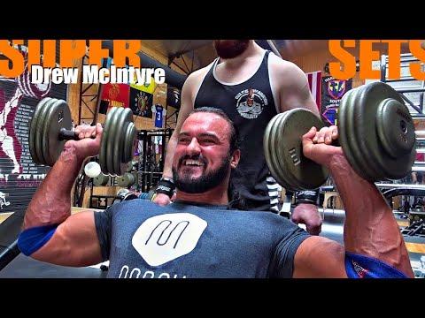 Drew McIntyre Shoulders (SUPERSETS!)