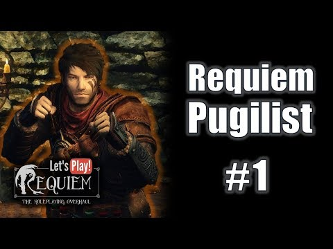 Let's Play Skyrim Requiem - Requiem Pugilist (episode #1)