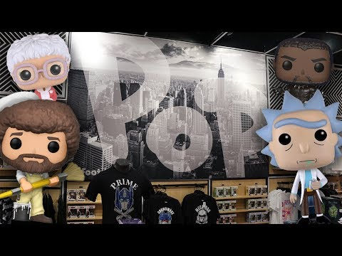 Time Square Foot Locker Funko Pop Hunting