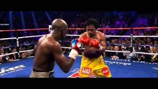 Mayweather vs Pacquiao Highlights Slow Motion