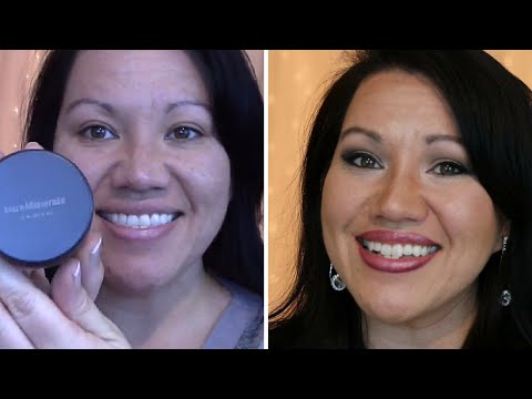 Acne: Get FLAWLESS Skin with Mineral Foundation -- Bare Minerals! Fake PERFECT skin!