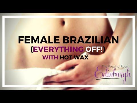 Professional Brazilian Wax - No Landing Strip