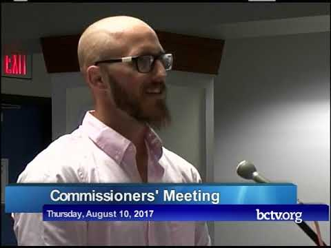 County of Berks Board of Commissioners' Meeting Part 2 8-10-17