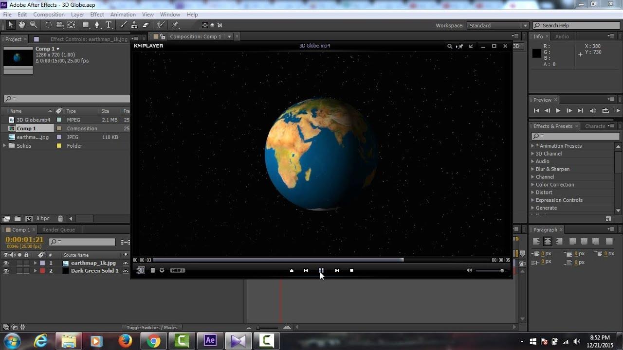 Cara Membuat Animasi 3D | Tutorial After Effect - YouTube