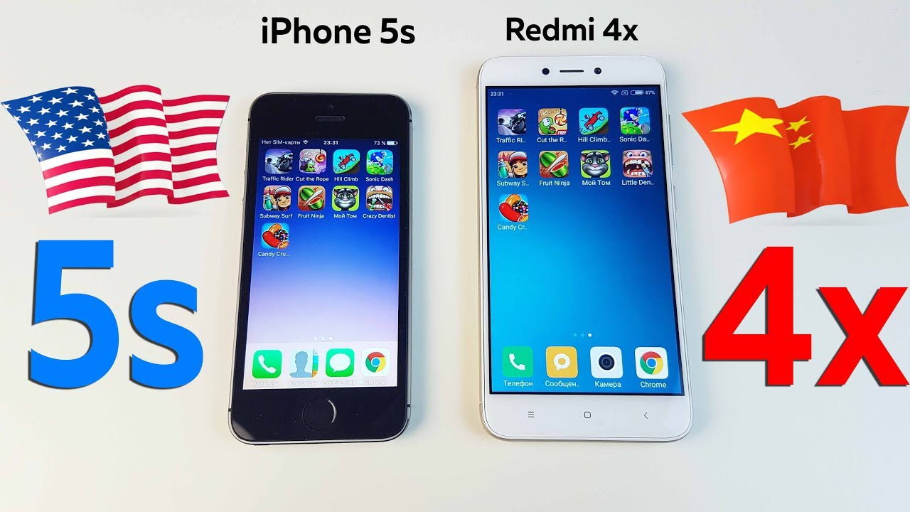 Samsung Galaxy A5 2017 vs iPhone 5S - YouTube