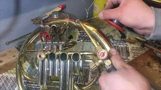 PLEH DOKTOR - FRENCH HORN ALEXANDER 503 REPAIR