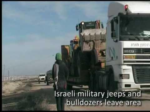 Israeli military destroys village - Amniyr, South Hebron Hills, West Bank