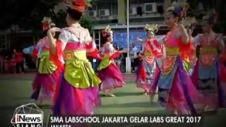 SMA Labschool Jakarta Gelar Lomba Antar Sekolah Bertajuk Labs Great 2017 - iNews Siang 23/04