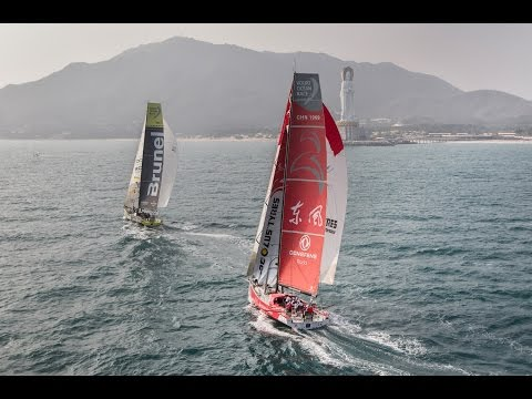 Leg 4 Start Replay | Volvo Ocean Race 2014-15