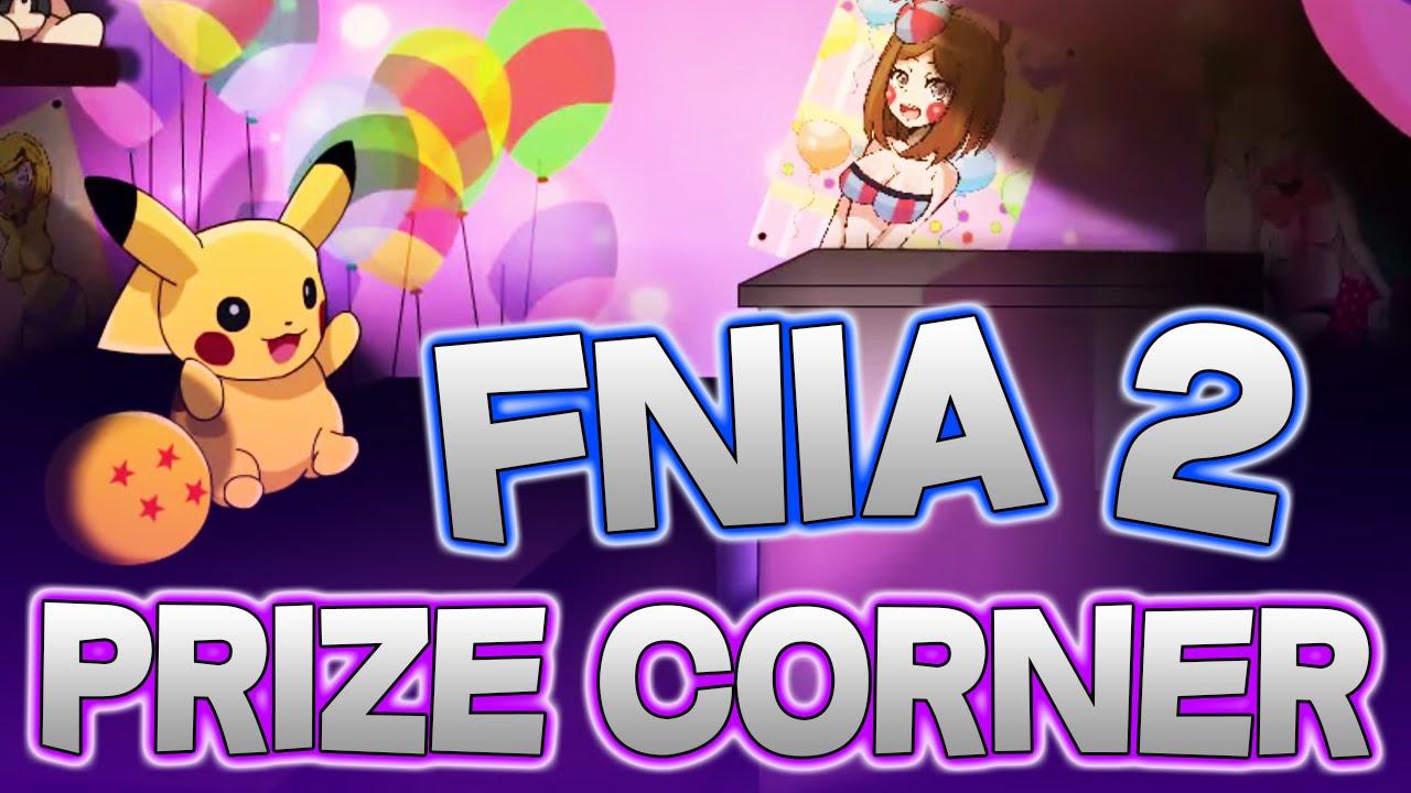 Fnia 2 five nights in anime 2 pikachu & dragon ball z || fnia 2 prize corner  screenshots & info!