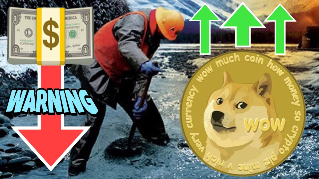 TERRIFYING INFLATION ~ Dogecoin GET RICH Gold Rush ⚠️