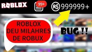 Roblox BUGOU e Deu ROBUX para JOGADORES !!!! *verdade*