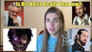 Bass Vocalist Analyzes Corpse Husband: How is His Voice So Low?
