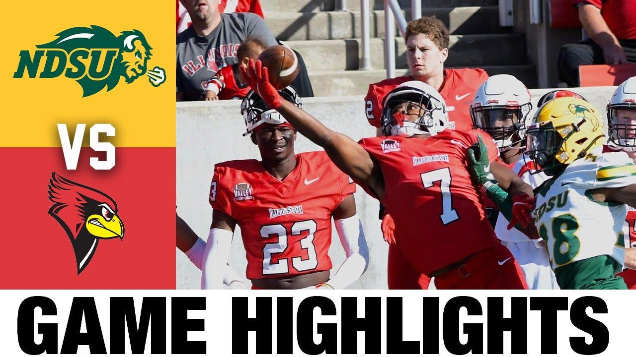 #3 North Dakota State vs Illinois State   FCS Week 7   2021 College Football