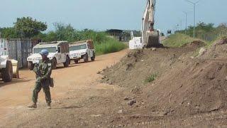陸上自衛隊がPKO活動公開 首都ジュバで整備活動