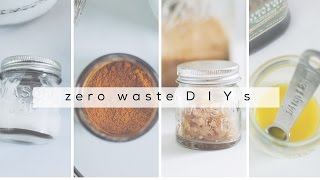 SIMPLE ZERO WASTE DIYs | Jamie Kate