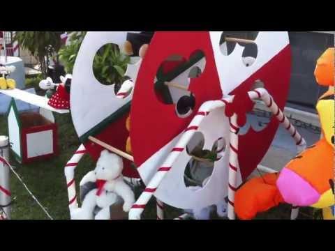 How To Make A Christmas See Saw And Carousel Doovi