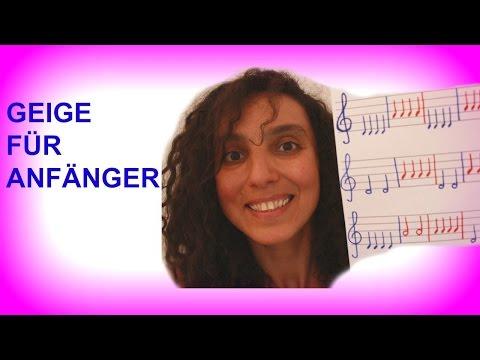 🎶 Geige für Kinder. Teil 1🎻 Drei kleine Lieder für Anfänger zum Mitspielen 🎶