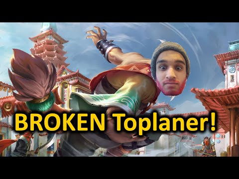 The Most BROKEN Toplaner In The Game??? Vainglory 5v5