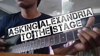 To The Stage - Asking Alexandria (guitar cover)