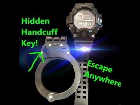 G Shock Hidden Handcuff Key!