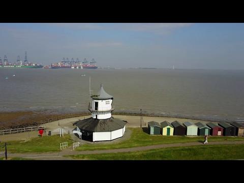 Dovercourt  Harwich Essex England Filmed Dji Mavic Pro in 4k