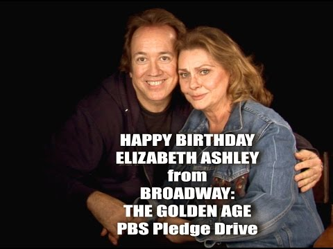 ELIZABETH ASHLEY @PBS for Rick McKay's BROADWAY: THE GOLDEN AGE