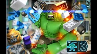 Colorful Game – INCREDIBLE HULK LEGO DESTROYS THE CITY, FROZEN ELSA'S ADVENTURES   SUPERHERO BABIES