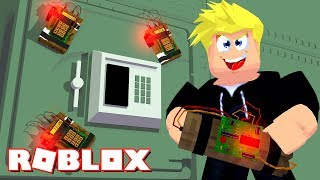NEW JAILBREAK! ROBBING THE BANK: ROBLOX WANTED