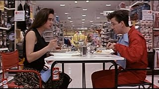 Free Dinner with good dialogues | Jennifer Connelly and Frank Whaley( Career Opportunities (1991) ) Thumb