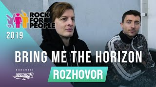 BRING ME THE HORIZON (interview/rozhovor @ Rock For People 2019)