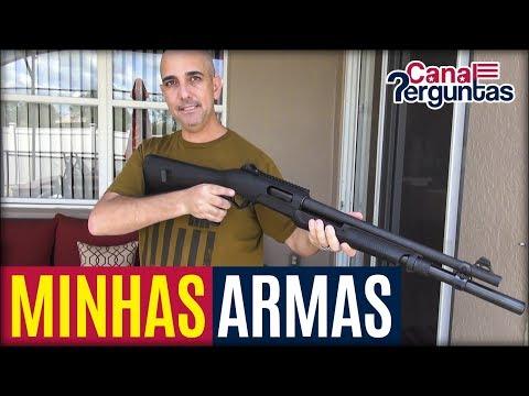 Minha pequena coleção de armas de fogo nos EUA ✔