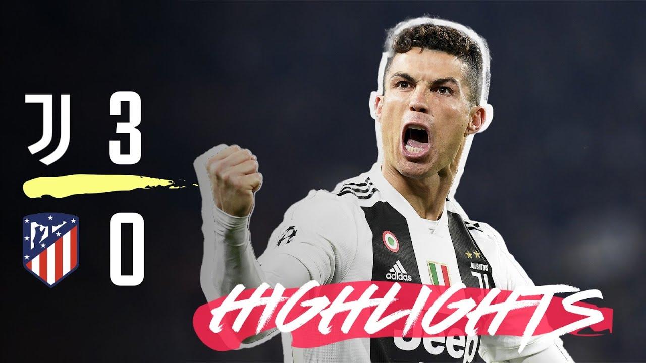 Highlights Juventus Vs Atletico Madrid   Ronaldo Hat Trick