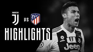 vuclip HIGHLIGHTS: Juventus vs Atletico Madrid - 3-0 - Ronaldo hat-trick completes comeback!