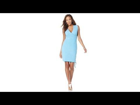 Wendy Williams Reversible Sleeveless Dress. http://bit.ly/2Yb8h6Y