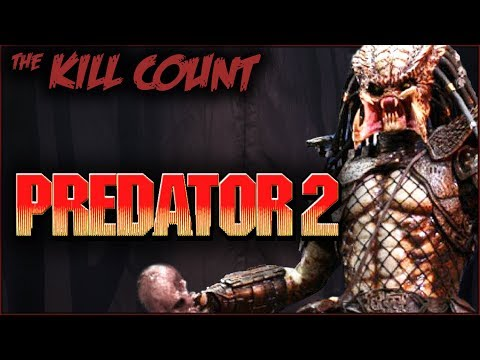Predator 2 (1990) KILL COUNT