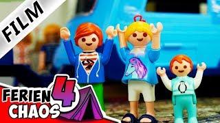 Playmobil Film Deutsch WOHNWAGEN GEKLAUT! URLAUBSPLÄNE FALLEN INS WASSER Ferienchaos 4 Familie Vogel