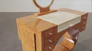 Émile-jacques Ruhlmann 'the 'redhead' Dressing Table' [360° View]