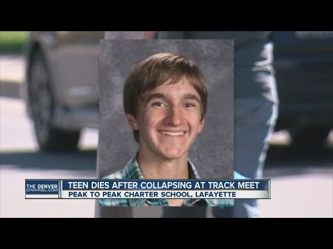 Teen dies after collapsing at cross country meet